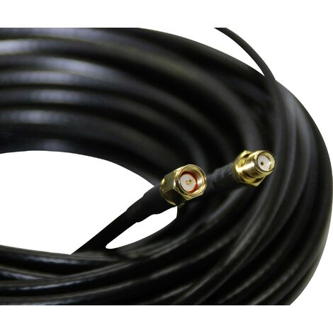 Câble d'antenne 10 m Wittenberg Antennen P-103101 P-103101 SMA femelle SMA mâle 1 pc(s) C677221