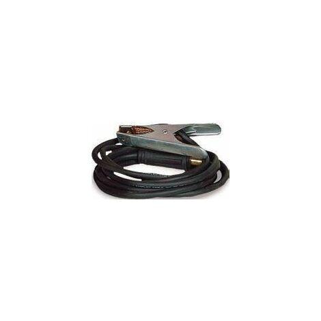Cable de 4 m con pinza para masa 1250215