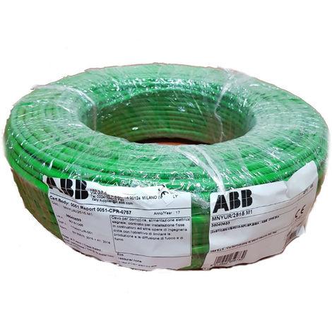 Cable de ABB I-Bus KNX 2 hilos 1X2X0,8MM 100 metros Y 063 3