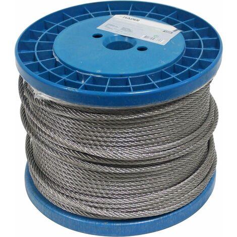 Cable de Acero Inoxidable - 6mm x 100m