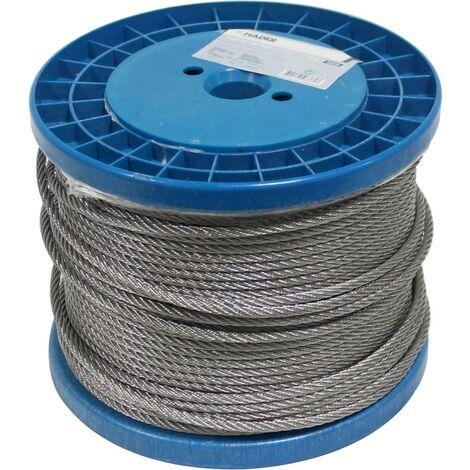 Cable de Acero Inoxidable - 8mm x 100M