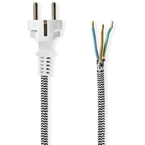 Cable de alimentacion para plancha 3 M Blanco