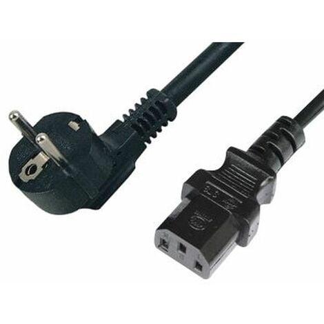 Cable de Alimentación PC de Schuko - IEC de 1,8 Mts