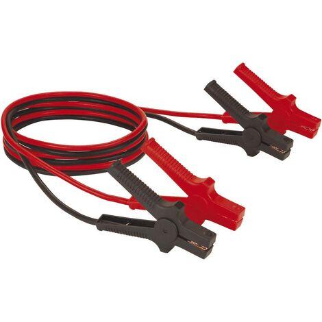Câble de démarrage 19.4 mm² Einhell 2030335 avec pinces en plastique, sans circuit de protection 3.00 m Aluminium (revêtement cuivre)