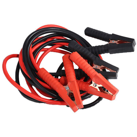 Cable de demarrage 4 metres 150A Cable de demarrage d'urgence pour voiture Cables de demarrage pour batterie, modele?: 118