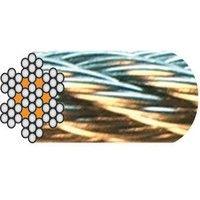 Câble de levage souple acier LEVAC - 7x7 fils - Au mètre - Plusieurs dimensions