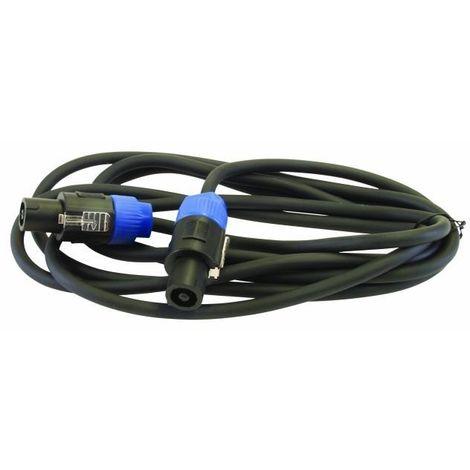 Câble de raccord 5 mètres fiche-fiche speaker