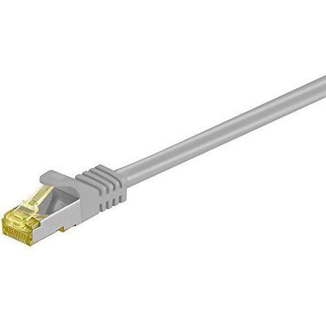 Cable de red SFTP CAT7 0.50 M Gris