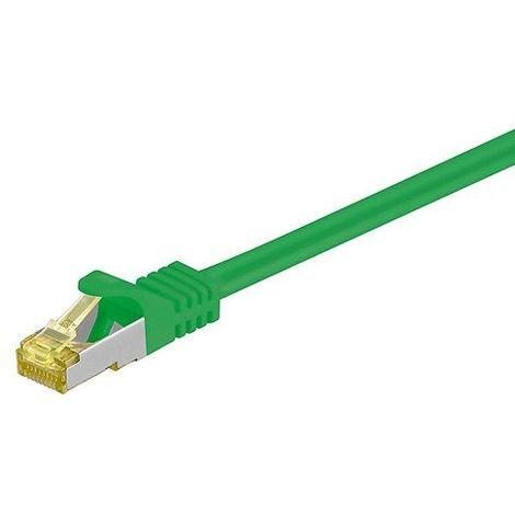 Cable de red SFTP CAT7 0.50 M Verde
