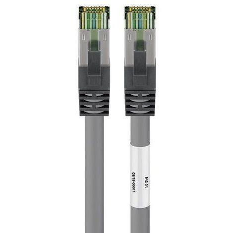 Cable de red SFTP CAT8 0.50 M Gris