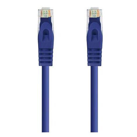 Cable de red UTP CAT6a 1 M Azul