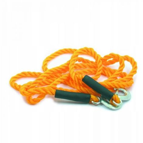 Cable de remolque fi 18 3t trenzado con un gancho