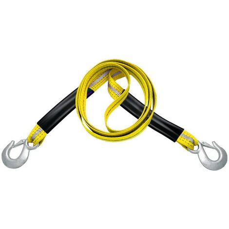 Câble de remorquage APA 26051 pour camping-cars, pour SUV, pour quad, pour voitures, pour véhicules tout-terrain, jusquà 6000 kg