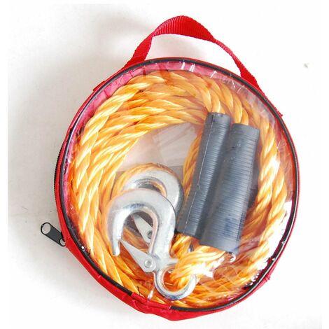 Cable De Remorquage Avec Crochet De Securite1800 Kg 3 M