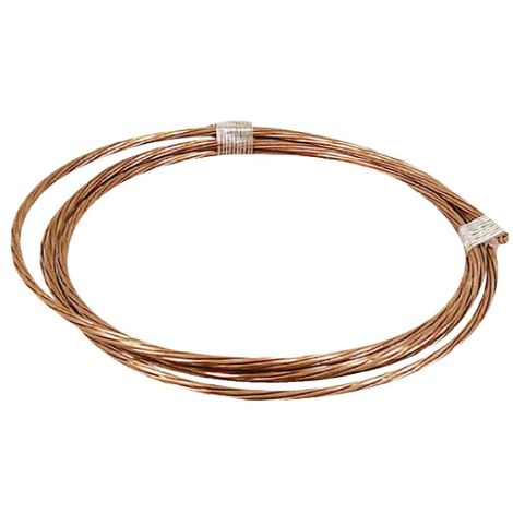 Câble de terre cuivre nu