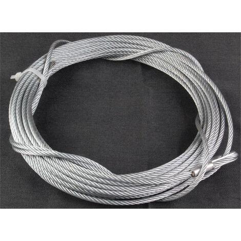 Cable de treuil - 350 kg - 15 m - 4 mm