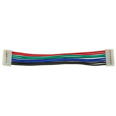 Cable de unión 8 pin para tira LED rígida RGB (Ref. B1428RGB)