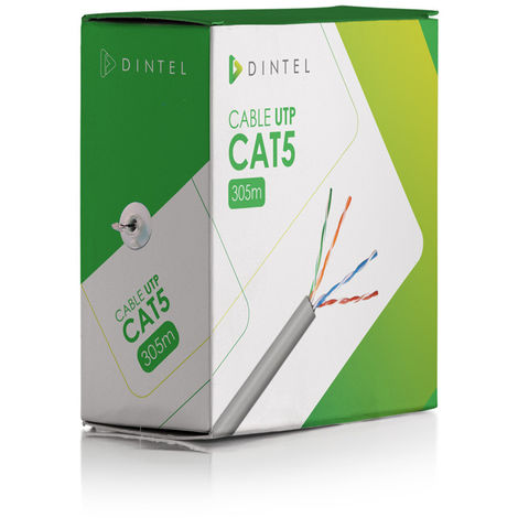 Cable de UTP 305m CAT5 Especial CCTV Dintel