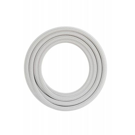 Cable decorativo textil CALEX 940210 2x0.75mm2 1.5MT Blanco