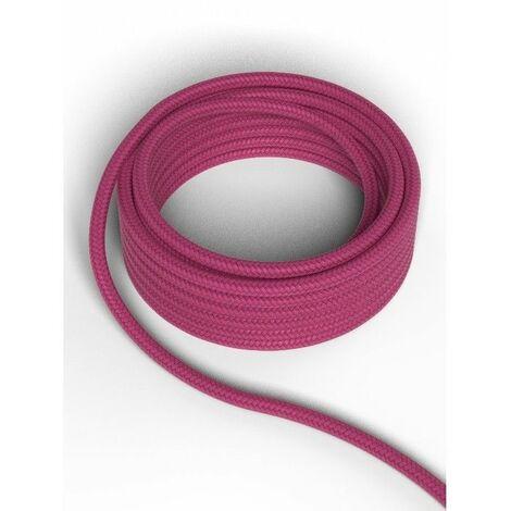 Cable decorativo textil CALEX 940226 2x0.75mm2 1.5MT Rosa