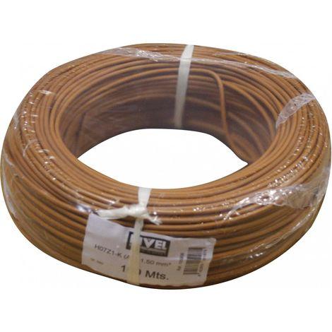 Cable Elec 1,5mm Hilo Flexible Cemi Cobre Marr Lh Lh1015.4 1