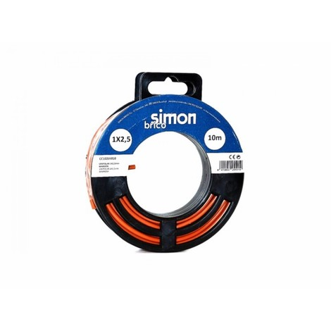 Cable elec 1x2,5 10mt hilo flexible simon b marr h07v-k