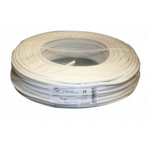 Cable Elec 2x1,5mm Mang Cemi Bl Rdo 750v M2015.0 100 Mt