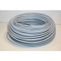 Cable Electricidad 2,5Mm Hilo Flexible Nivel Cobre Gris Libre Halogeno