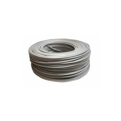 Cable Electricidad 6Mm Hilo Flexible Nivel Gris 750V Cf1060 100 Mt