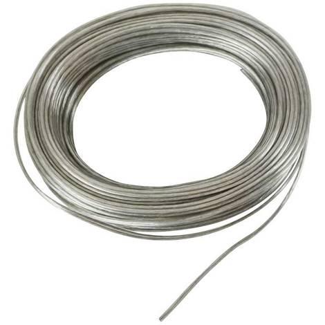 Cable eléctrico decorativo transparente 2x1.5 - 10 metros