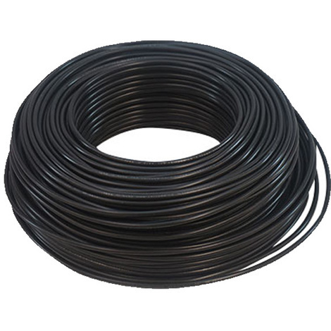 Cable Eléctrico Flexible 120 mm (1 metro) Color: Negro HV07V-K
