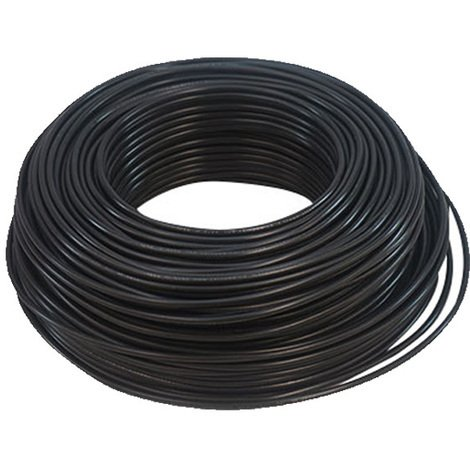 Cable Eléctrico Flexible 150 mm (1 metro) Color: Negro HV07V-K