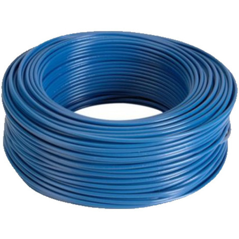 Cable Eléctrico Flexible 2,5 mm (100 metros) Color: Azul HV07V-K