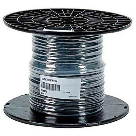 Cable eléctrico manguera 5 hilos, 1 mm2 flexible 25 metros