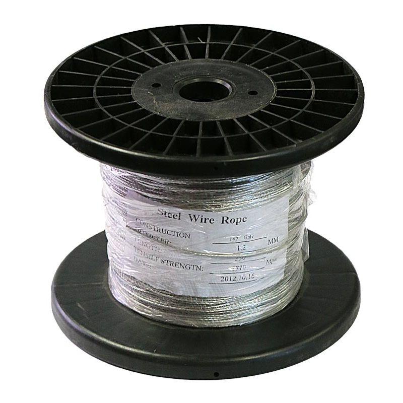 Cable électrifiable acier 250 m