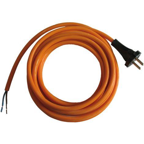 Câble électrique En Pvc 4 M Norme Ho5vvf En 2x1,5