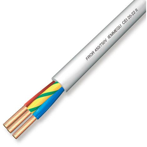 Câble électrique multipolaire Fror 3G2,5
