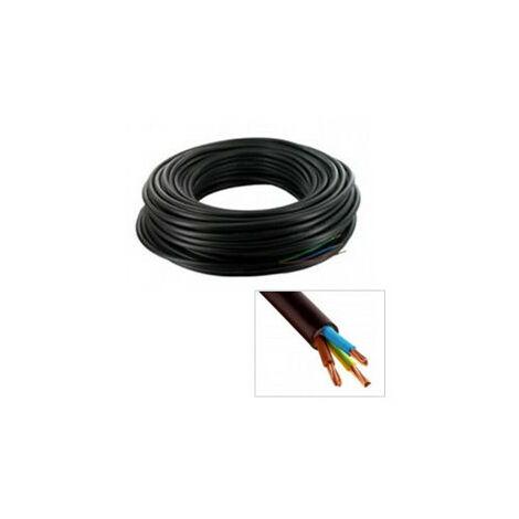 Câble électrique R2V 3G2.5mm² en 50m