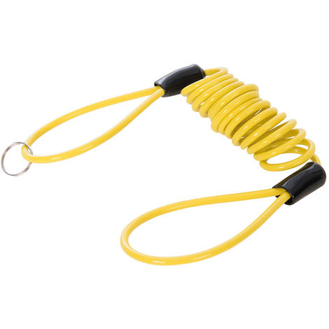 Cable enrollado para candado de moto 1.100 x 4 mm - NEOFERR