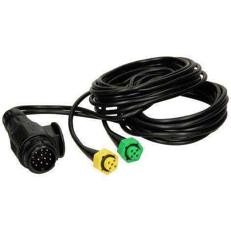 Câble faisceau remorque voitures auto 5m éclairage feux arrière 13 broches 12V