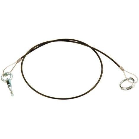 Cable frein securite remorque 1m