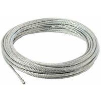 Câble galvanisé 4 mm âme métallique 10m