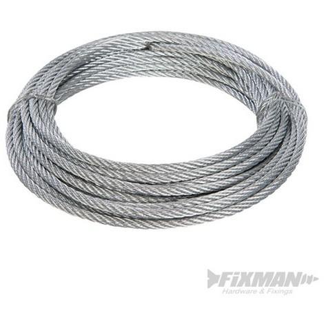 Cable galvanizado (4 mm x 10 m)