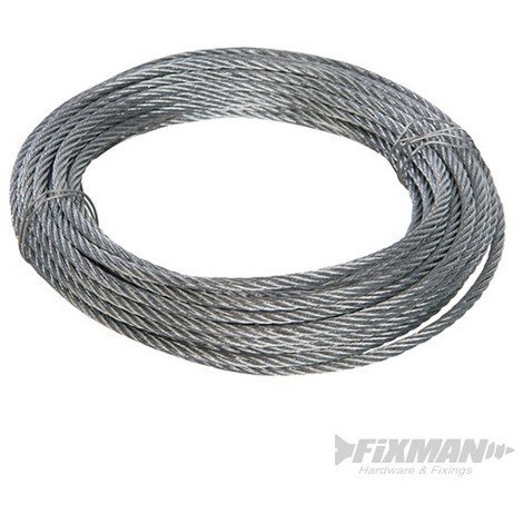 Cable galvanizado (6 mm x 10 m)