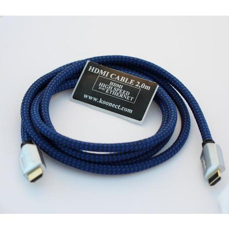 Cable HDMI 1.4 1m - Triple Blindage