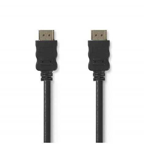 Cable Hdmi Ethernet V1.4 alta velocidad A/M-A/M 5 M Negro