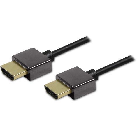 Cable HDMI Ultra fino macho / macho 1,5 m