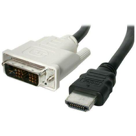 Cable HDMI vers DVI-D de 2 m - M-M - Cable HDMI vers DVI-D de 2 m - M-M - HDDVIMM2M Startech