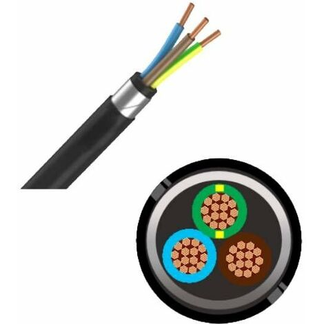 Câble industriel armes RVFV 3G16 - au mètre