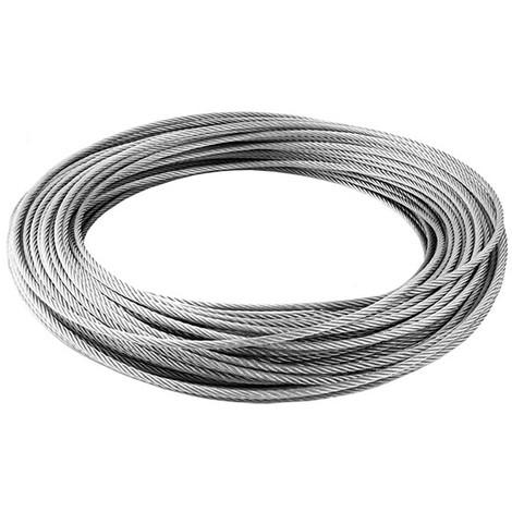 Câble inox 4mm - au mètre - Catégorie Suspension